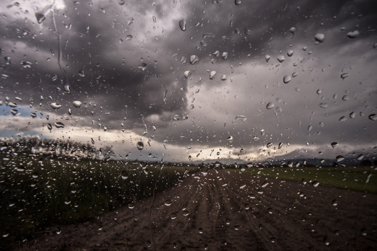 Voiture pluie
