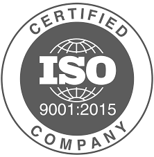 certification ISO 9001 grey